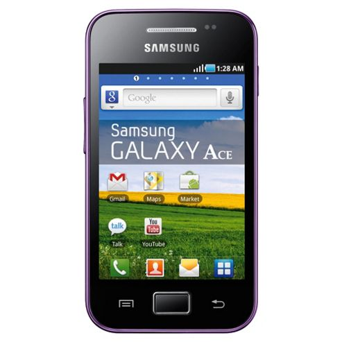 Tesco Mobile Samsung Galaxy Ace Purple