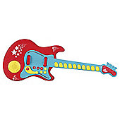 Carousel Rock Star Guitar Red