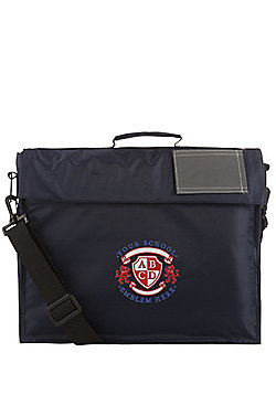 Embroidered School Book Bag