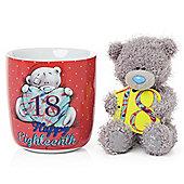 Me to You Tatty Teddy 18th Mug and Plush