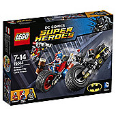 LEGO DC Super Heroes Batman Gotham City Cycle Chase 76053