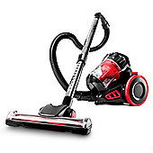 Duronic Vacuum Cleaner VC180 Bagless Sweeper | Energy Class A | 800W Small Compact Cylinder Multi-Cyclonic Carpet and Hard Floor