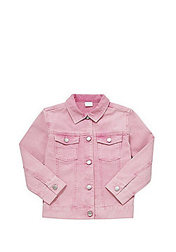 F&F Denim Jacket - Pink