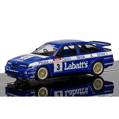 SCALEXTRIC Slot Car C3867 Ford Sierra RS500, Tim Harvey