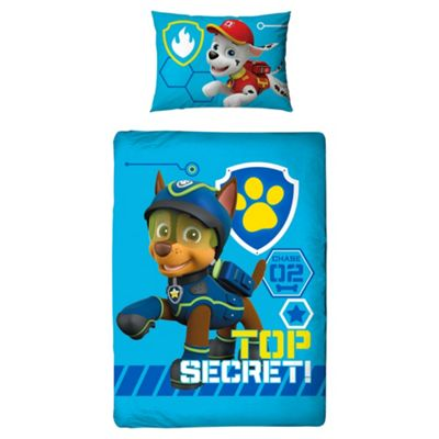 Paw Patrol Duvet Cover, Junior Bed