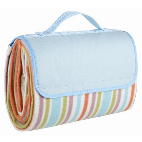 KitchenCraft Coolmovers Summer Breeze Stripe Picnic Rug