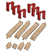 Tomy Wooden Railway Elevated Track Pack  Chuggington