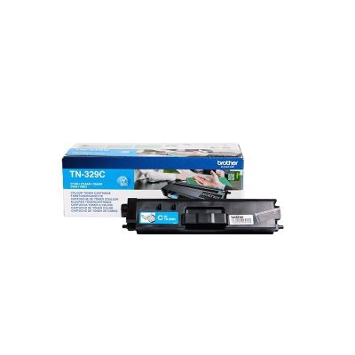 Brother TN-329C Toner Cartridge (6000 Pages)
