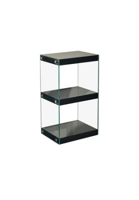 Moda Shelving Unit Small Black