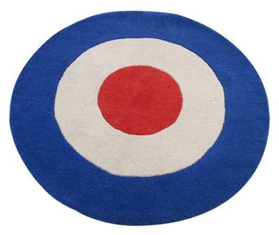Bullseye Children's Rug