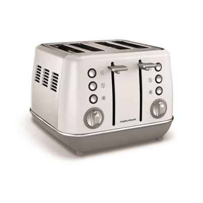 Morphy Richards-240109 Evoke 4 Slice Capacity Toaster with Variable Browning in White