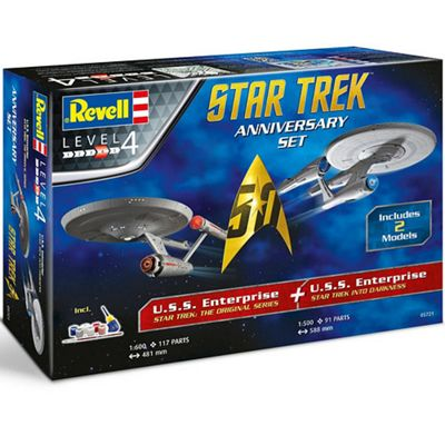 REVELL 05721 Star Trek Gift Set Space Model Kit