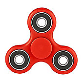 Tri Fidget Hand Spinner Toy, Fidget Spinner Fidget Finger Toy (Red) UK Stock