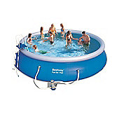 "Bestway Fast Set Round Inflatable Pool Package 18ft x 48"" - 57291"