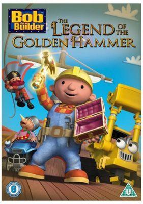 Bob The Builder - The Legend Of The Golden Hammer (DVD)