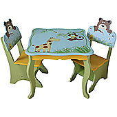Liberty House Safari Animal Table & Chairs
