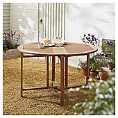 Kingsbury Round Folding Table