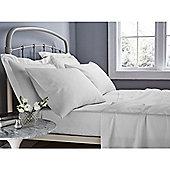 Catherine Lansfield 500 Thread Count Oxford Pillowcase - White