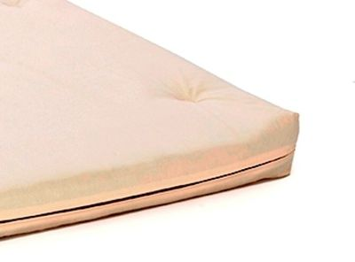 Comfy Living 4ft Small Double Futon Mattress In Cream