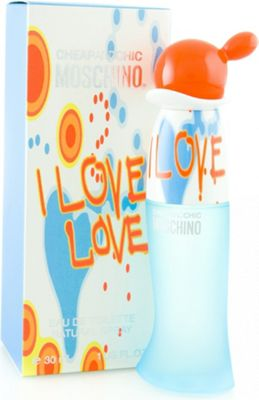 Moschino Cheap & Chic I Love Love Eau de Toilette (EDT) 30ml Spray For Women