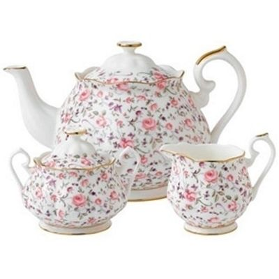 Royal Albert New Country Roses Confetti 3 Piece Set