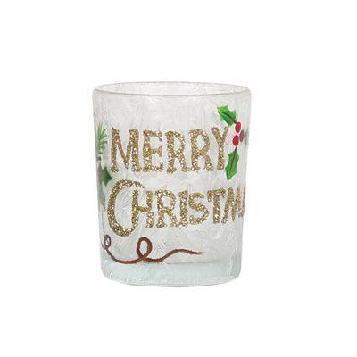 Aroma Merry Christmas Votive Holder