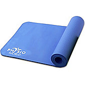 Physio World Thick Exercise Mat - 15mm Blue
