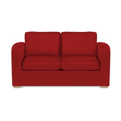 Richmond Sofabed Faux Leather Red
