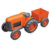 Green Toys Tractor Orange