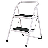 Abru 2 Tread White Stepstool