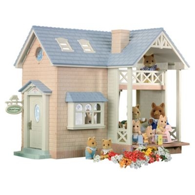 Sylvanian Families Bluebell Cottage with Figure & Accessory