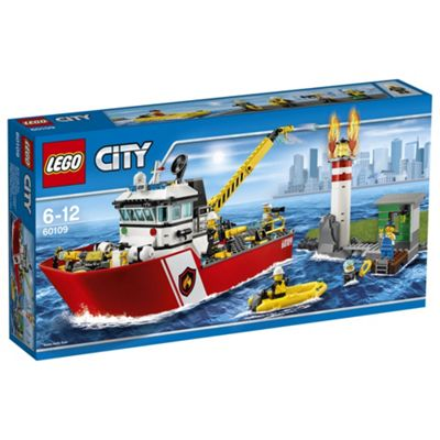 LEGO City Fire Boat 60109