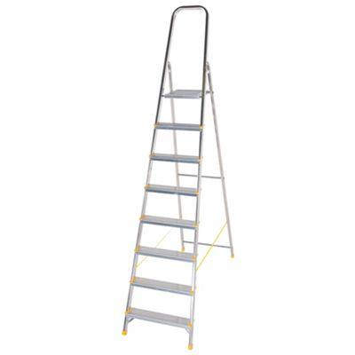 DIY 8 Tread Platform Step Ladder