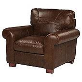 Ledbury Armchair - Chocolate Brown  Leather