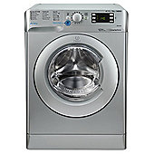 Indesit Innex Washing Machine, BWE 91484X S UK, 9kg, 1400rpm - Silver