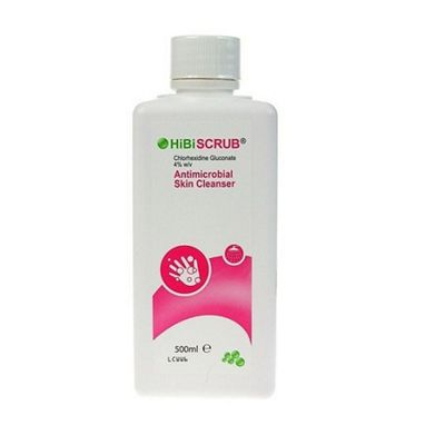 Hibiscrub Antimicrobial Skin Cleanser (500ml)