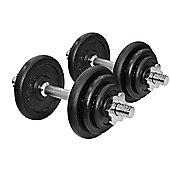 JLL Cast Iron Dumbbell Set - 20kg