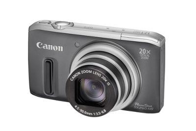 Canon PowerShot SX260 HS Digital Camera Grey with GPS