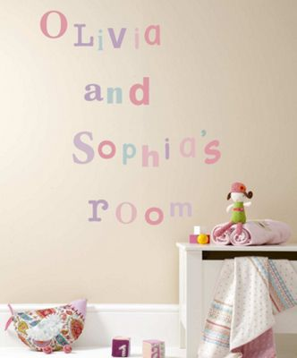 Mamas & Papas - Wall Art - Made With Love Alphabet Girl