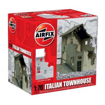 AIRFIX A75016 Italian Townhouse Ruin 1:76 Building Model Kit