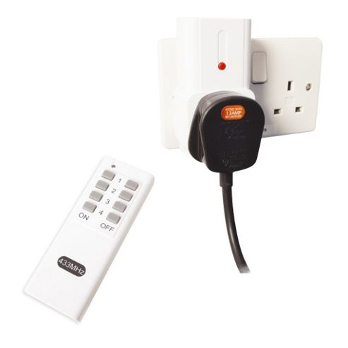 Remote Controlled Mains Sockets 5- Pack