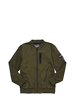 F&F Mesh Lined Bomber Jacket - Khaki