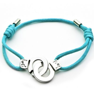 Cuffs of Love Cord Bracelet - Turquoise Small