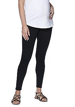 F&F Contour Under-Bump Maternity Skinny Jeans - Black