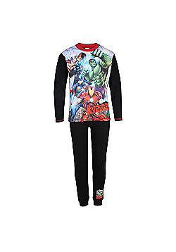 Marvel Avengers Boys Pyjamas - Navy
