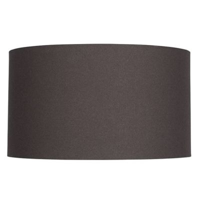 45cm Grey Lamp Shade Handloom Cylinder Shape