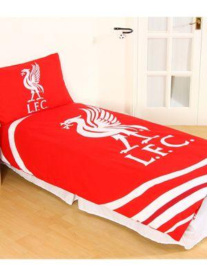 Liverpool FC Pulse Single Duvet Cover Set
