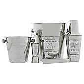 Etched Text 5pcs cocktail gift set