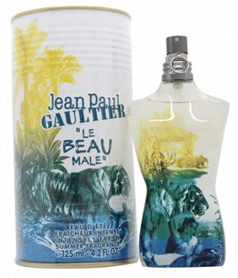 Jean Paul Gaultier Le Beau Male Summer 2015 Eau de Toilette (EDT) 125ml Spray For Men