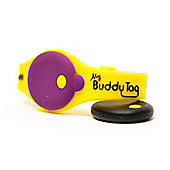 Buddy Tag Child Tracking Device Wristband - Yellow Silicone